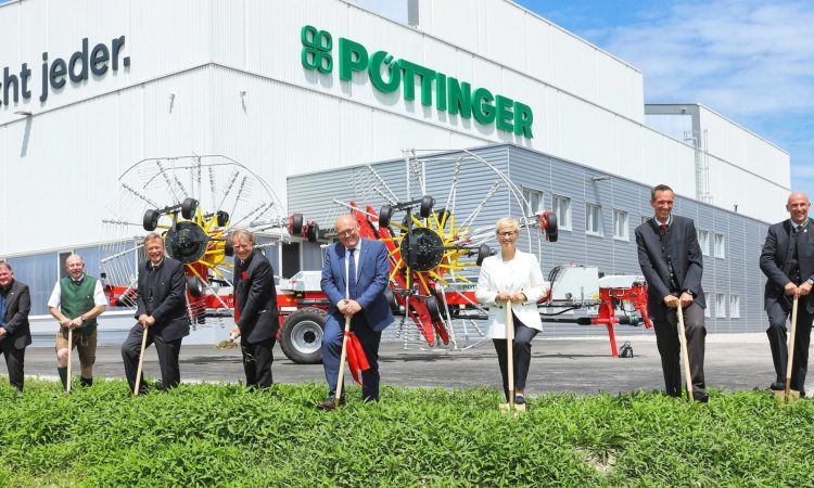 Pottinger breaks more ground with new round baler factory