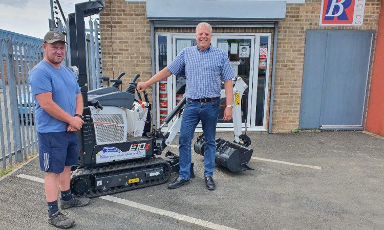 Excavator raffle raises over £20,000 for children's charity