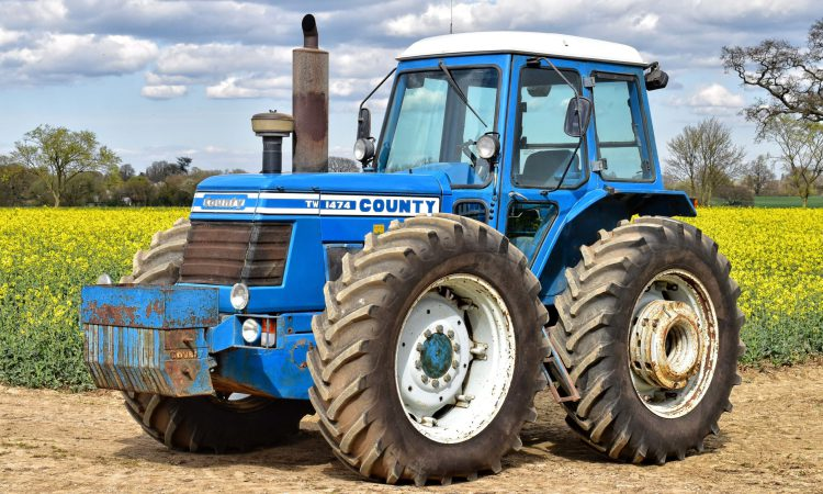 County tractors prove their appeal with one fetching £210,000 at sale