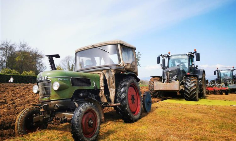 Young farmers plan 24-hour plough in 60-year-old tractor