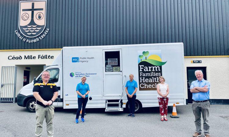 Farm families health check van hits the road again