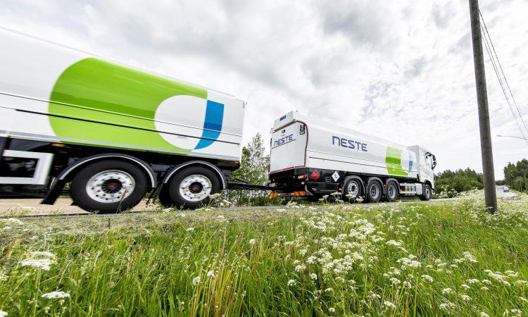 Neste expands availability of renewable diesel