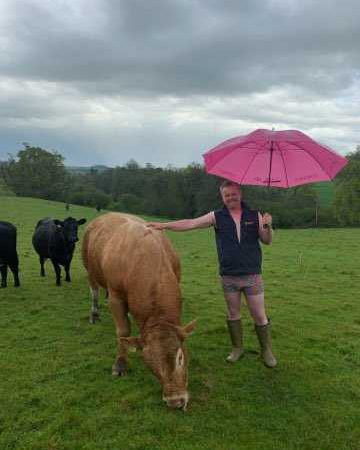 Beef and dairy farmers raising money for charity as part of Bulls Out for Cancer
