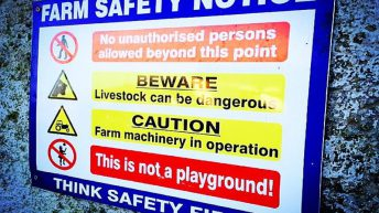 'Protect your business, protect your family' – FUW on farm safety