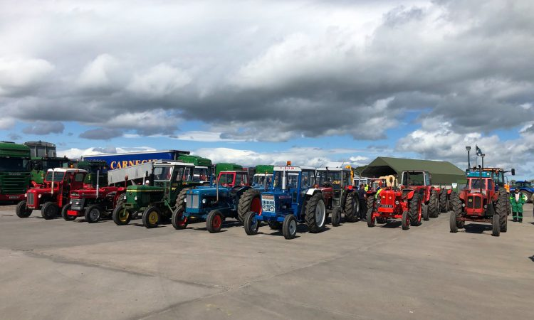 Scottish tractor run to raise money for cancer and haematology care