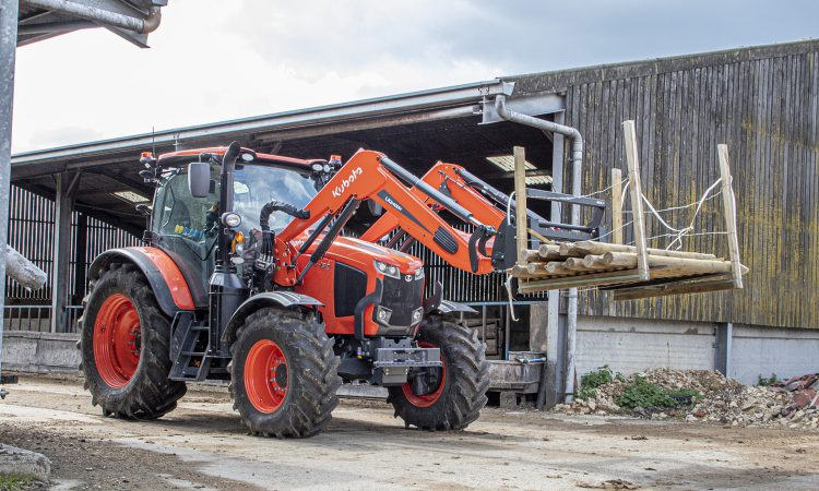 Kubota sources loaders and confesses to technology lag