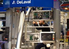 DeLaval ramps up milking robot production due to 'surge in demand'