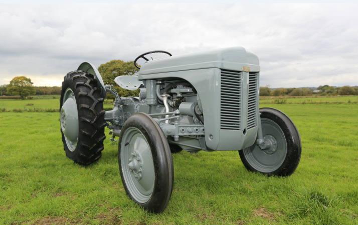 75 years of 'Grey Fergie' at the Vintage Tractor Show