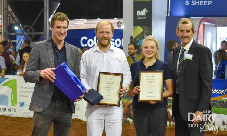 Holstein UK Premier Herd award winners 2021