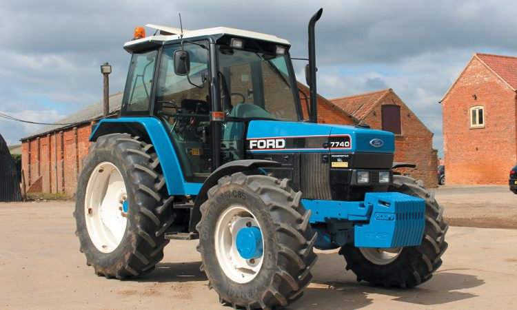 'Blue Force' at the Vintage Tractor Show