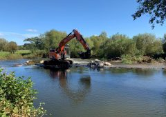 Removal of Dovecliff weir set to improve water quality