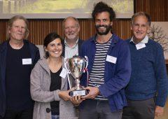 Devon growers receive Young Organic Farmer award