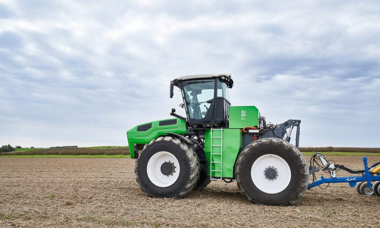 World's first biomethane-powered hybrid tractor unveiled