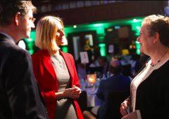 Hackett promotes UK and Irish collaboration on climate change