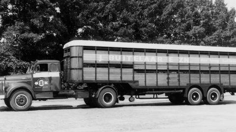 Vintage lorry