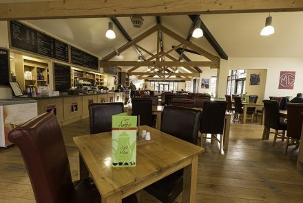 Cafe Ambio can cater for groups large or small.
