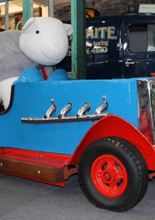 1930s Dodgem Car from New Brighton on Merseyside