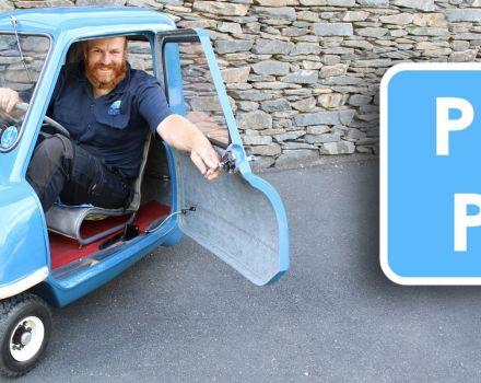 Tiny car is one of our biggest attractions