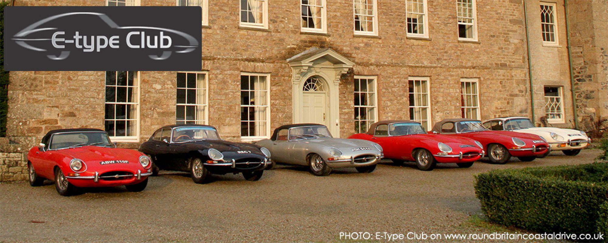 Jaguar E-Type Round Britain Coastal Drive
