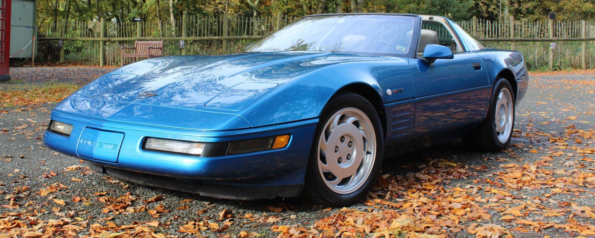 Corvette arrives at the museum