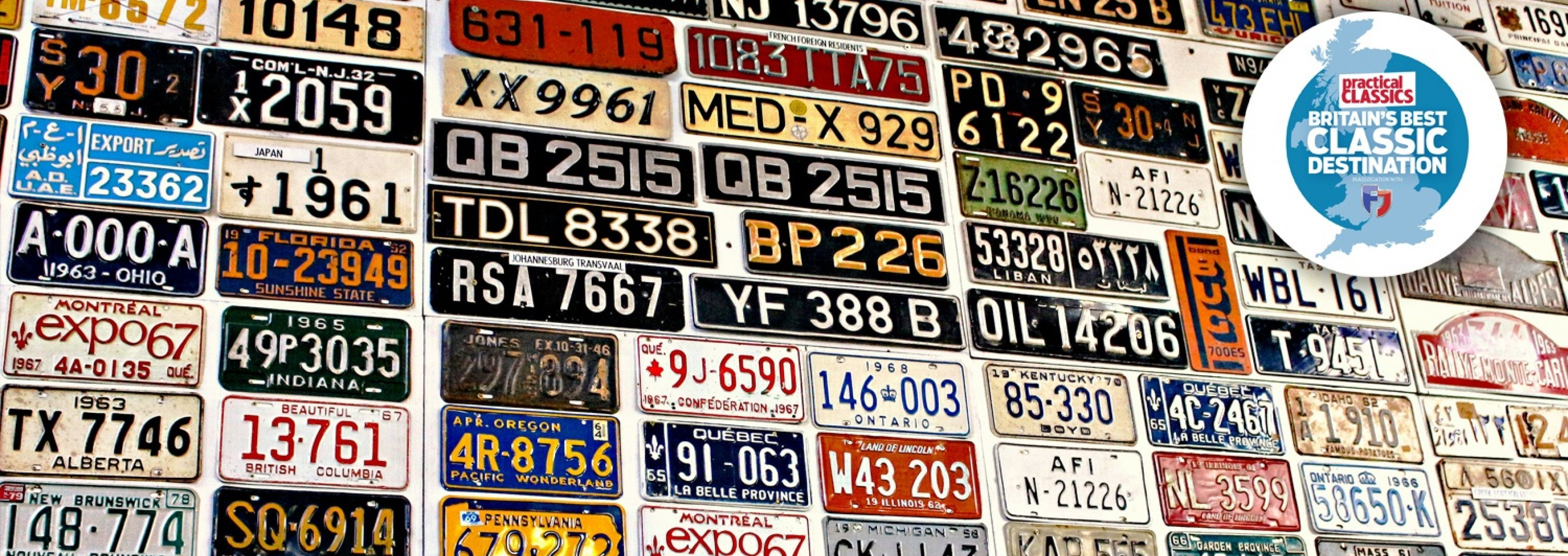 <p>We've got probably the largest collection of motoring of memorabilia in the UK.</p>