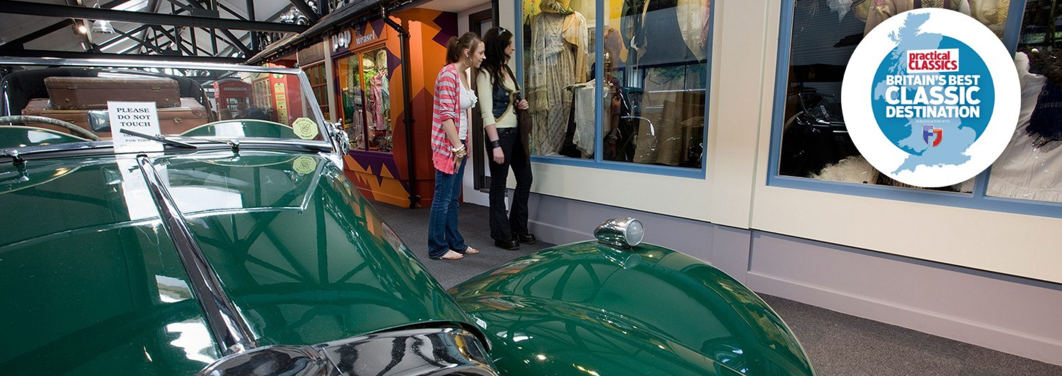 <p>Explore our fantastic recreations of period shops, a 1920s garage and 1950s cafe and find out about local history and motoring in the Lake District.</p>