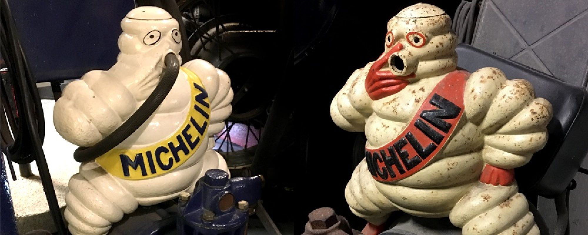 Two Michelin men exhibits housed in the museum