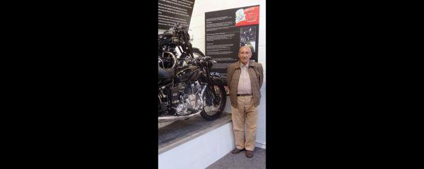 Vintage motorbike reunited with Cumbrian man