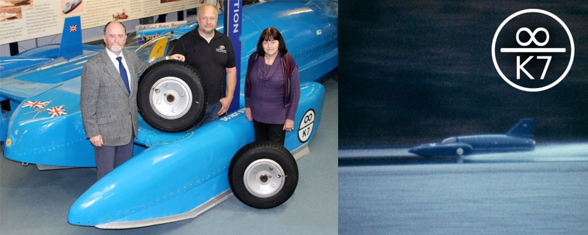 Presentation of wheels to Bluebird Restoration Project