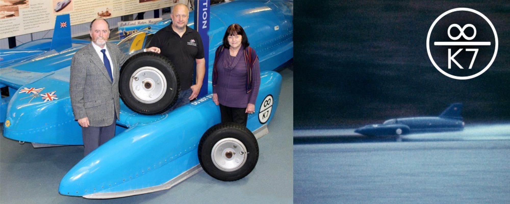 Presentation of wheels to Bluebird Restoration Project