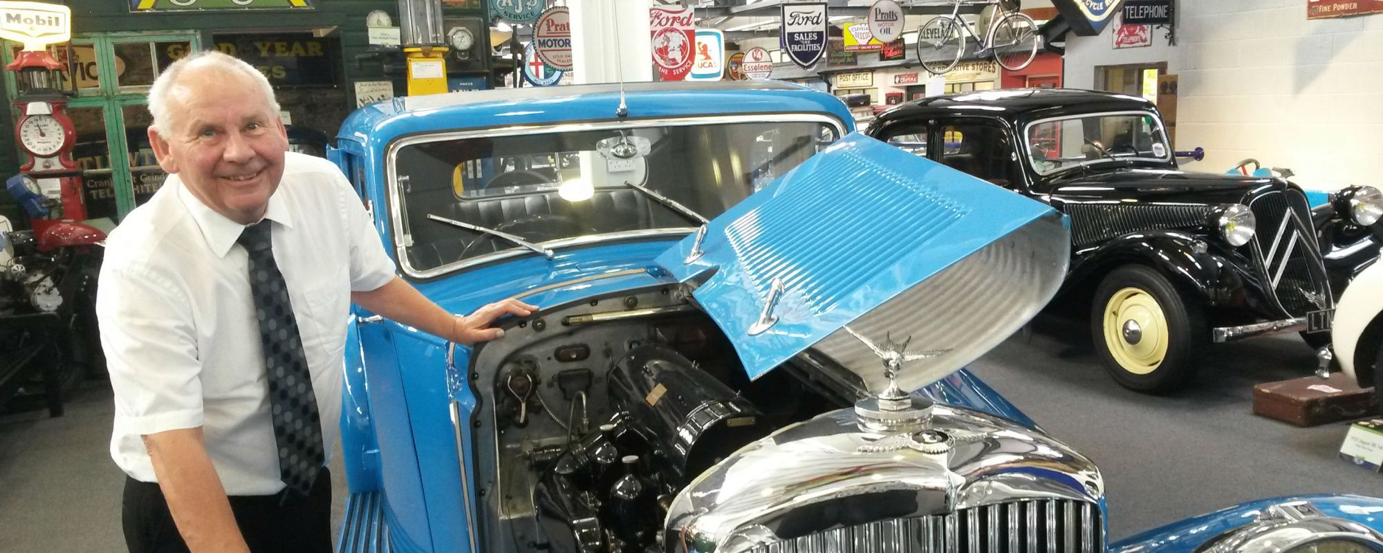 Edwin Maher Lakeland Motor Museum 3