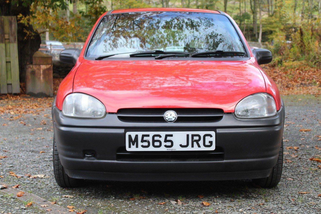 Front facing Vauxhall Corsa