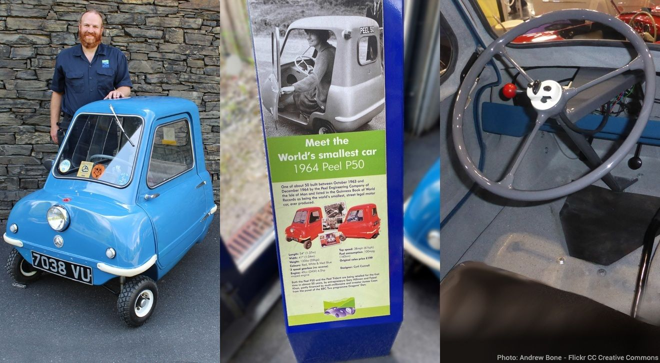 Pics of Chris Lowe, Operations Manager at LMM with the Peel P50