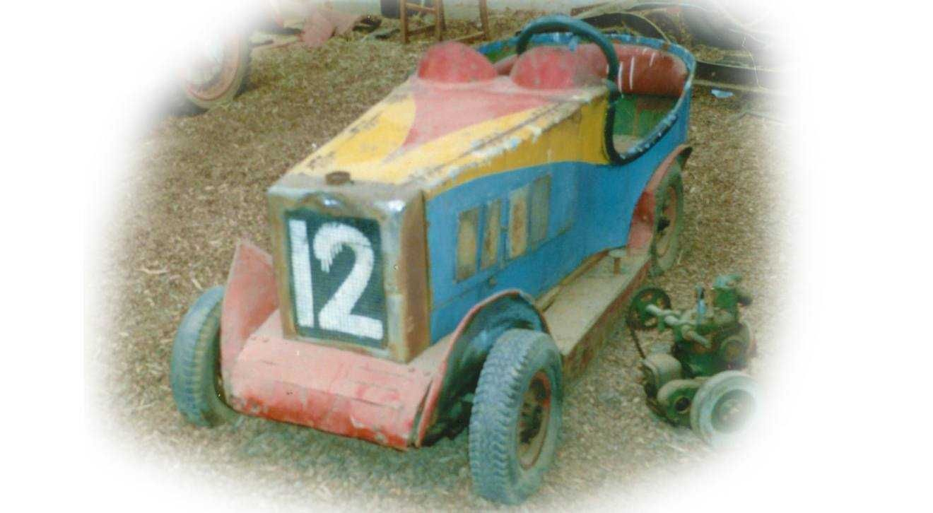 The original dodgem when purchased at the auction