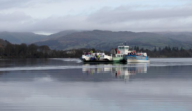 Windermere Lake Cruises hauls Council-run ferry out of lake for planned inspection