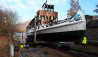 Successful checks ensure MV Tern is  fit for work ahead of 2019 season