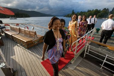 Board our premier cruise from Bowness at 18:45