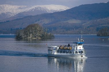 Red Cruise (Ambleside <> Bowness) has stunning views
