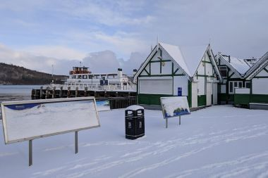 Bowness Pier is open every day except Christmas Day