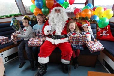 Santa Cruise sets out on weekends in December