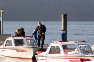 Electric self-drive boats are available to hire in winter