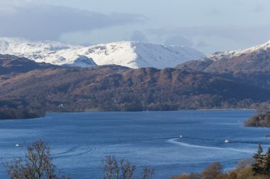 The view north on the Red Cruise from Bowness