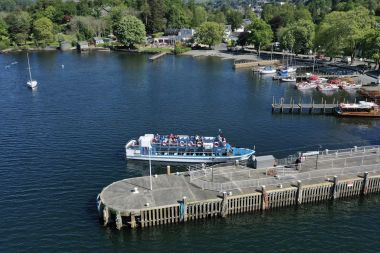 Islands Cruise sets out from Bowness Pier every 30 mins