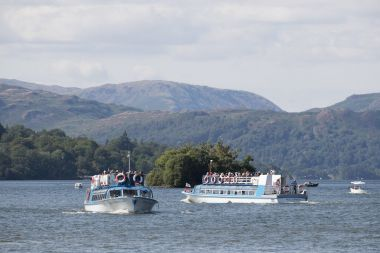 Islands Cruise lasts 45 minutes & departs from Bowness