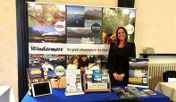 Jen Cormack, Sales Director at a tradeshow