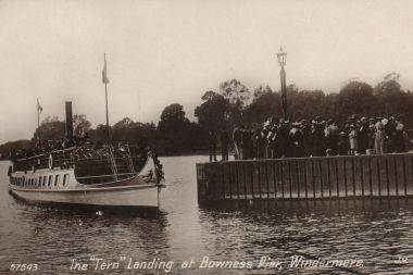 Historical photo of MV Tern circa 1900