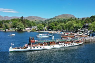 Departing Ambleside (Waterhead) on Red Cruise