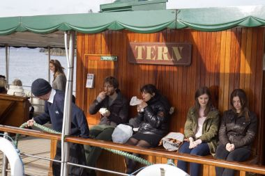 Bring your own food on board or use our cafe