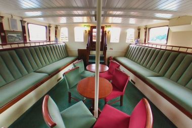 Rothay Lounge/front cabin on MV Tern