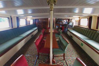 Brathay Lounge/back cabin on MV Tern